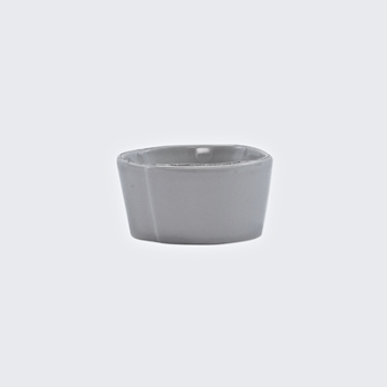 Vietri - Lastra Light Grey Condiment Bowl 4in