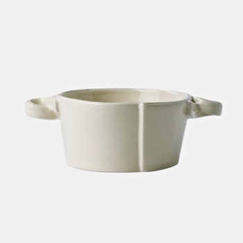 Vietri - Lastra Linen Bowl Handled 5in