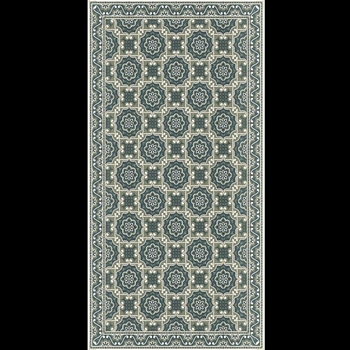Adama - Beach Blue 47x24 Vinyl Carpet