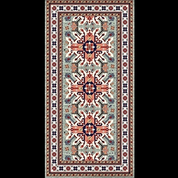 Adama - Mullah Green 47x24 Vinyl Carpet