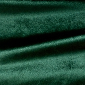 Velvet - Gian - Emerald Green - 56in, 100% Polyester Knitted Construction, Easy Care Washable