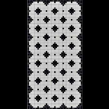 Adama - Tet Black 47x24 Vinyl Carpet