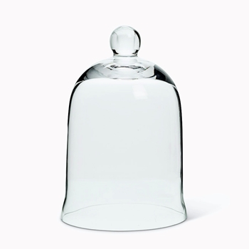 Cloche - Clear Bell Small 3W/6H