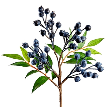 Blueberry Spray 17in - FSB359-BL