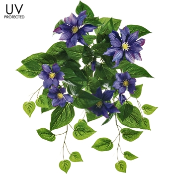 Clematis - Blue UVP Cascade 20IN - UV Protected - FBC313-PU