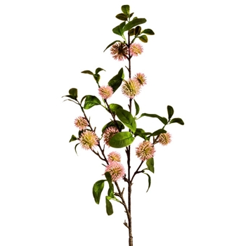 Blossom - Sweet Gum Pom Branch Blush Pink 33in - FSF005-PK/GR