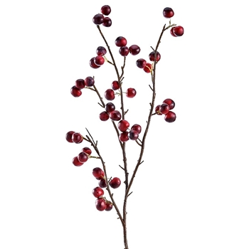 Berry - Branch Winterberry Bordeaux 41in - FSB606-BU