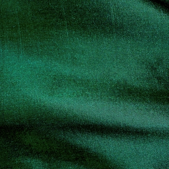 Silk Shantung - Ivy Emerald Titan, 54in, 100% Silk, Machine Loomed, Dry Clean Only. Do not expose to sunlight.