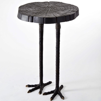 Patina Ostrich Side Table