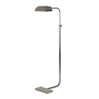 Koleman Task Nickel Floor Lamp