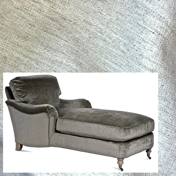 Chaise Julia Ivory Crypton Chenille 68W/33D/35H