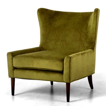 Armchair Wingback Marlow Citron 30W/34D/35H