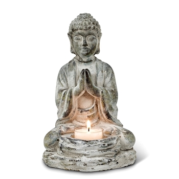 Buddha - Tealight 8in Vintage