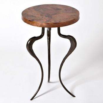 Accent Table - Silhouette Copper Clad 13W/20H