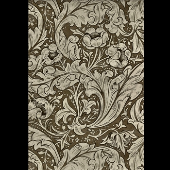 Floorcloth - Bachelor Button Fawn 38W/56L - Morris & Co