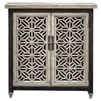Chest - Branwen 2 Door Mahogany 34W/10D/36H