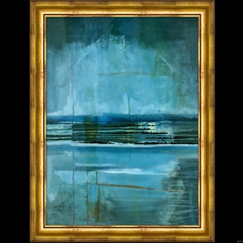 21W/27H Framed Giclee - Midnight on the Bay
